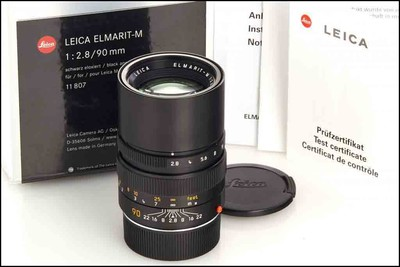 徕卡 Leica M 90/2.8 E46 现行版 最后期 39号段 银盒包装