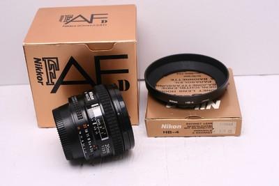 尼康 AF 20/2.8 D 尼康20/2.8D 尼康 20/2.8D 带原厂光罩 包装盒
