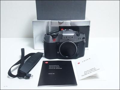 徕卡 Leica R9 旗舰135机身 炭灰色 带包装