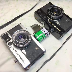 Olympus/奥林巴斯 - 35 EC2 135胶片旁轴相机42mm F2.8胶卷禄莱35