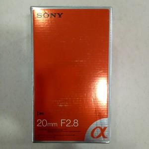 索尼 20mm f/2.8(SAL20F28)镜头