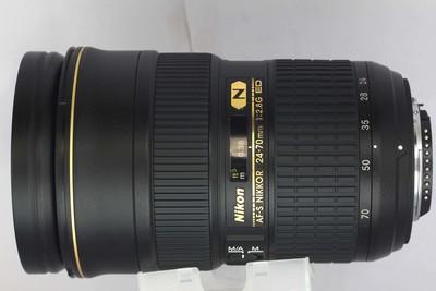 【全画幅标准变焦镜头】尼康 AF-S 24-70/2.8G ED(NO:6422)