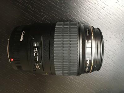 佳能 EF 100mm f/2.8 USM(百微),送(B+W)UV镜