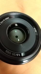 9成新 索尼 E 35mm f/1.8 OSS(SEL35F18)