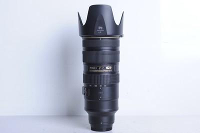 95新二手Nikon尼康 70-200/2.8 G VR II 大竹炮(B1085)【京】