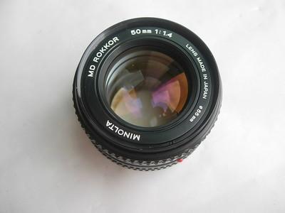 很新美能达50mmf1.4金属镜头,MD卡口,可转接各种数码相机
