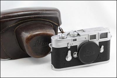 徕卡 Leica M3 双拨 经典旁轴 好价格 带皮套 带L封