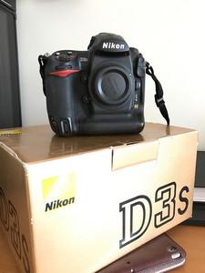 尼康 D3S 95新 里外新净 包装配件齐