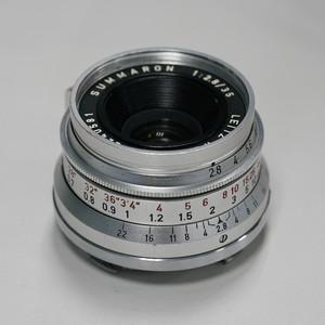 徕卡 Leitz Wetzlar Summaron 35 mm f/ 2.8 小八妹 M口 九新