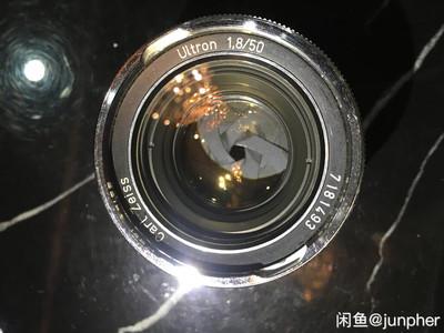 蔡司Zeiss Ultron 50 1.8 BM口凹玉 闲鱼拍×卖