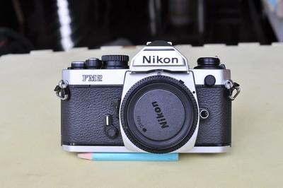 Nikon 尼康FM2相机99新钛帘经典收藏品相