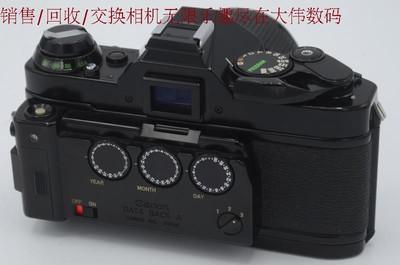新到 95成新 佳能AE-1 胶卷相机 黑色 带数字背 编号7862