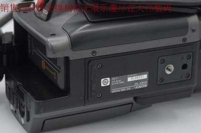 新到 95成新 Sony/索尼 DSR-PD190P 带广角镜 配件齐全 编号8095