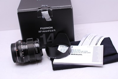 富士 XF 14/2.8 R WR 14 mm F2.8 富士14/2.8 带包装 99新