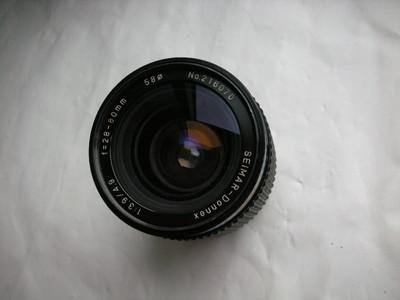 日本原装思玛28--80mm金属制造镜头,PK卡口,可配各种相机