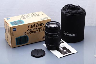 蔡司 ZEISS 康泰时 CONTAX N系列 70-200 N70-200 新同品 包装全