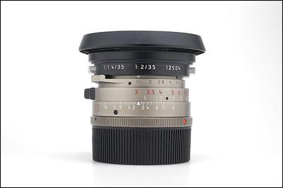 徕卡 Leica M 35/1.4 PRE-ASPH 徕卡圣光 钛金版