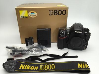 95新带包装尼康 D800机身 D800