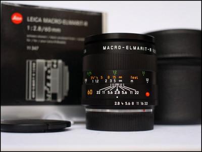 徕卡 Leica R 60/2.8 MACRO ROM 后期 银盒包装