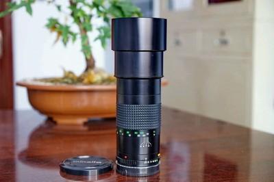 (索尼A口)美能达300mm f4.5手动定焦镜头