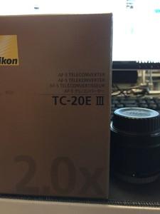 尼康 AF-S TELECONVERTER TC-20E III