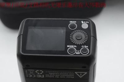 新到 神牛 AD200 便携式高速外拍灯 支持佳能 尼康TTL 编号8453