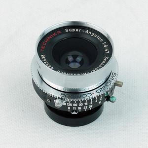 施耐德Schneider  SUPER-ANGULON 47mm/f8 林选镜头!