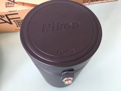 99新Nikon尼康CL-43A皮质镜头筒,尼康AF80-200 f/2.8D镜头使用