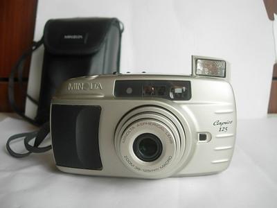 很新美能达125变焦相机,功能繁多,送原配皮套,挂绳