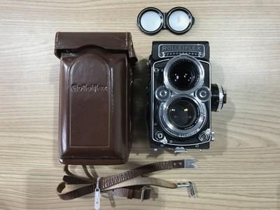 好成色 禄来双反 Rolleiflex 2.8f Planar 后期 12/24版本