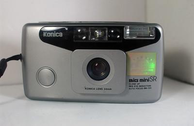 柯尼卡全自动胶片照相机(Konica  BIG  MINI  SR---34mm定焦)