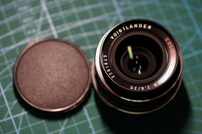 Rollei SL 35 和 Voigtlander color skoparex 35 2.8 镜头