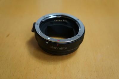 Commlite EF-E(NEX)佳能EF镜头转索尼E自动转接环支持全画幅