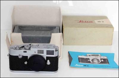 徕卡 Leica M2 银色经典旁轴机身 带包装