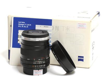 蔡司/Zeiss Distagon T* 25mm F/2.8 ZF.2镜头 尼康口 *如新连盒*