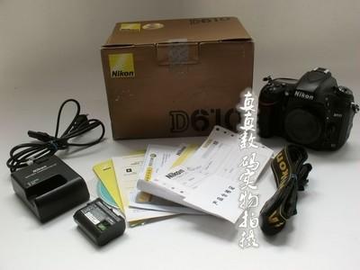 成色很好 行货 尼康D610 单机 原电原充 高性价比全副相机 #9384