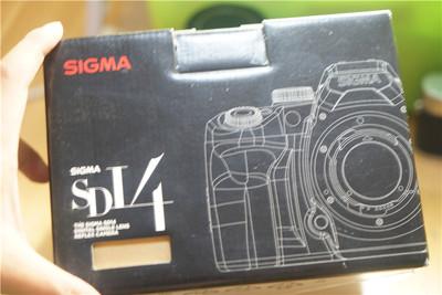 99新 适马 SD14 sigma 极新 带包装 改口徕卡 R leica 稀罕物