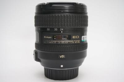 90新尼康24-85mm f/3.5-4.5G ED VR 24-85 0277