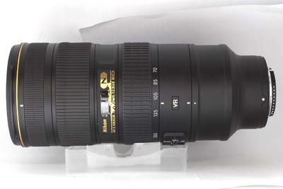 【远摄变焦镜头】尼康 AF-S  70-200/2.8G ED VR II(NO:2213)