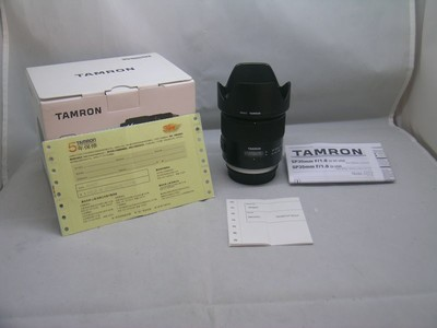 出售 95新 腾龙 SP 35mmF1.8Di VC USD 佳能口 包装齐全 请看图片