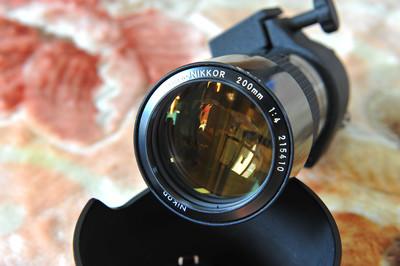老款经典微距镜头 AIS 200mm/4