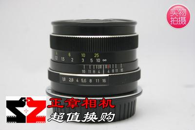 无损改口禄来蔡司Rollei Planar 50mm f1.8红HFT镀膜 50/1.8镜头