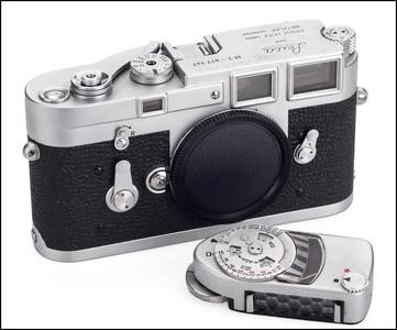 徕卡 Leica M3 单拨 银色 带测光表 刚保养过 保修1年