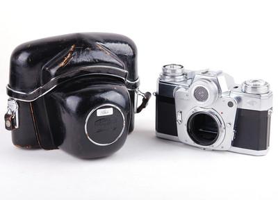 蔡司依康 Contarex 牛眼相机 收藏级别  银色#jp18662