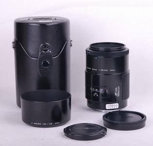 特价美能达 AF 100/2.8 带遮光罩和皮套 #jp17977
