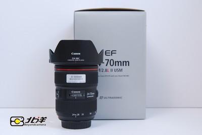 99新 佳能 EF 24-70/2.8L II USM 带包装(BG10310011)