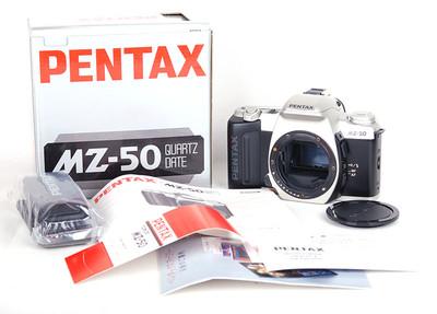 【库存新品】Pentax/宾得 MZ-50 01331 银色机身 带包装 #jp17654