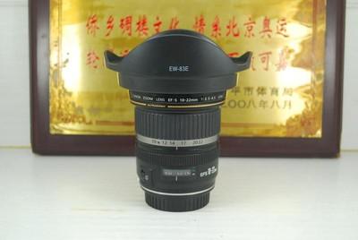 97新 佳能 10-22 F3.5-4.5 USM 非全画幅超广角单反镜头 可置换