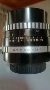 东蔡pancolar 50mm f1.8三剑客之一,斑马版,m42口 9成新