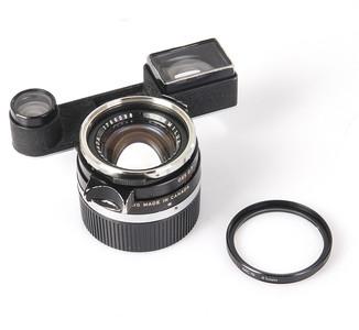 徕卡 SUMMILUX 35/1.4 黑色钢嘴眼镜版 #HK7246